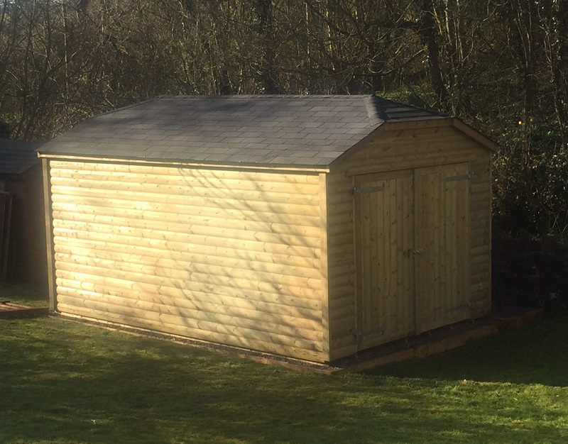 Large Garden Storage Shed Timber Frame Specialists