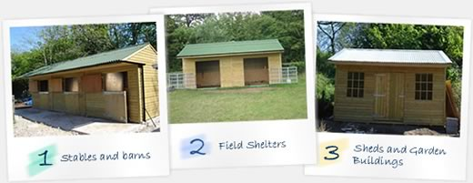 Stables, Sheds, Garden Buildings