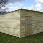 Field_shelter_on_ wooden_skids_with_stable_door
