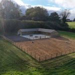 Stable block and exercise arena